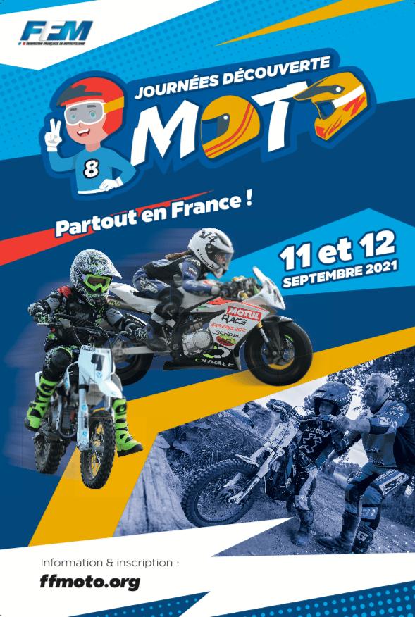 Découvrir la moto partout en France les 11 et 12 septembre prochain 2