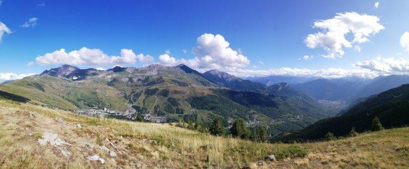 Mountain Collection 2021 : le 12 août, montée aux Karellis par le col d'Albanne 2