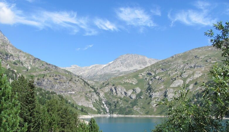 Lac du plan d'Aval