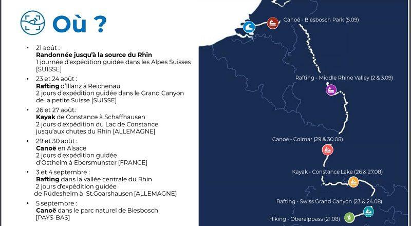 Avec l'application Plastic Origins, les amateurs de sport outdoor cartographient les déchets des fleuves et rivières 2