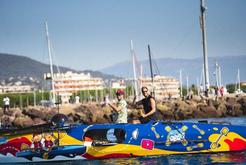 Mcfly et Carlito ont traversé la Méditerranée à la rame 1