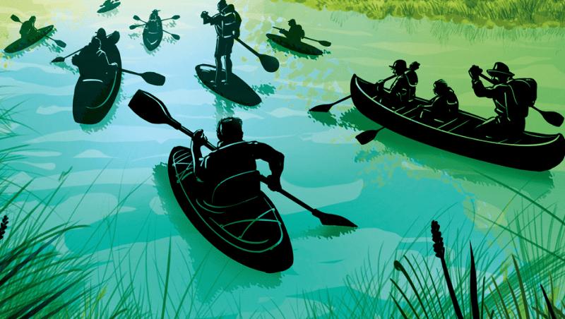 Et si vous vous initiez aux sports de pagaie sur les bords de Marne ? 1