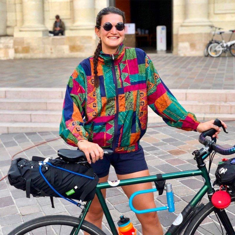 Isaure Delom : « Faire la promotion du slow travel à vélo » 1