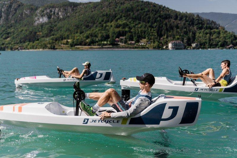 Le lac d'Annecy, théâtre de la première compétition de JetCycle 2