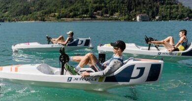 Le lac d'Annecy, théâtre de la première compétition de JetCycle 7
