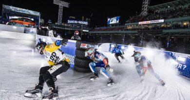 Les sports extrêmes «Sports de glace» en démonstration dans toute la France