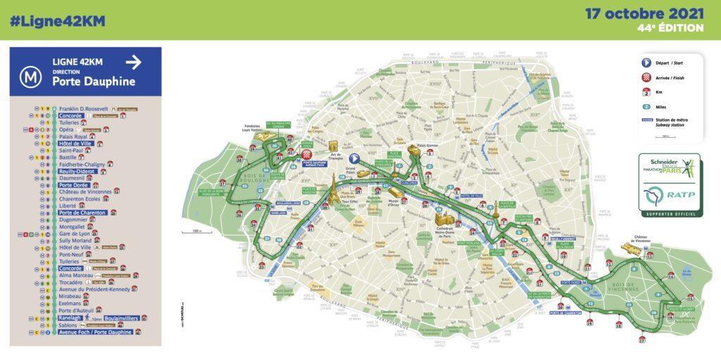 Pour le marathon de Paris, la RATP ouvre la ligne 42 1